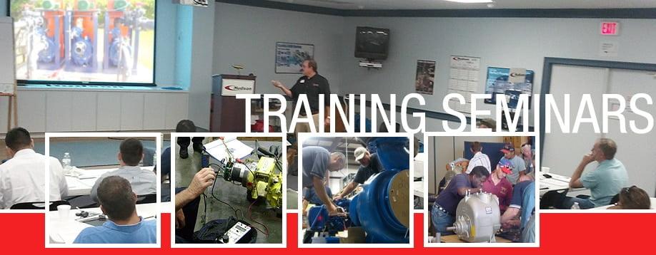 Hudson Pump Training Seminars