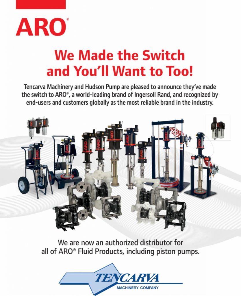 Authorized Distributor for ARO® Fluid Handling Products